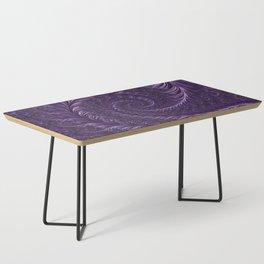 Deep Purple Coffee Table
