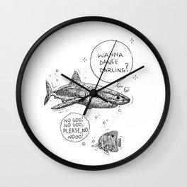 Lovely shark Wall Clock