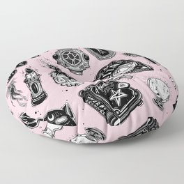 Witchy Floor Pillow