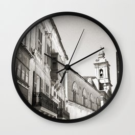 Facade of Malta Wall Clock
