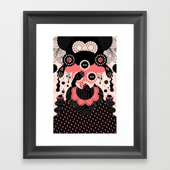 Hallucination Framed Art Print