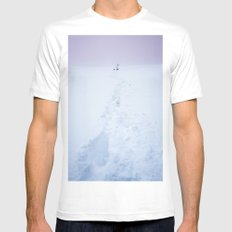 If there is no way, create one Mens Fitted Tee MEDIUM White