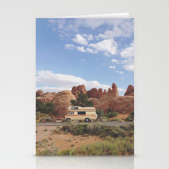 Rock Camper Stationery Cards