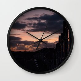 See me at sundown I Wall Clock