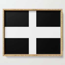 flag of Cornwall Serving Tray