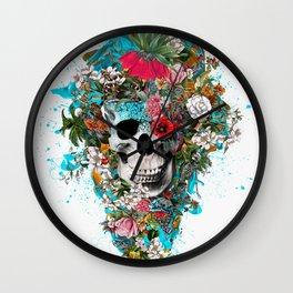 SUMMER SKULL V Wall Clock