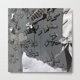Staple Board Metal Print