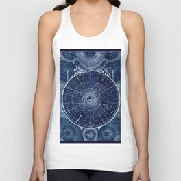 Celestial Map of the Universe Unisex Tank Top