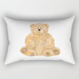 Yellow bear toy Rectangular Pillow