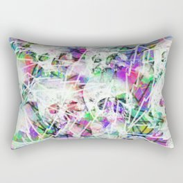 Rock n' roll skulls Rectangular Pillow