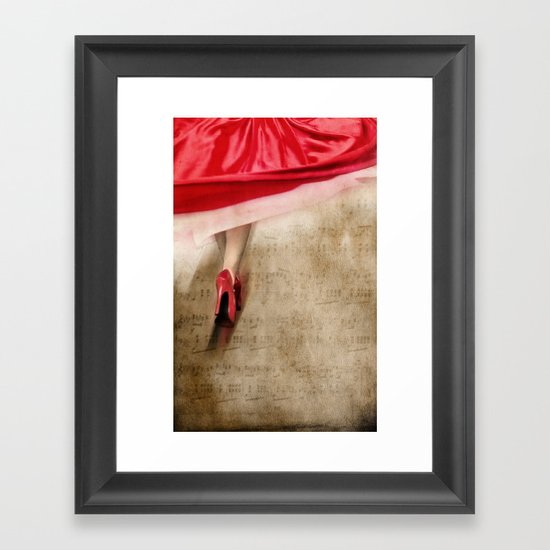 fleur de fleur Framed Art Print