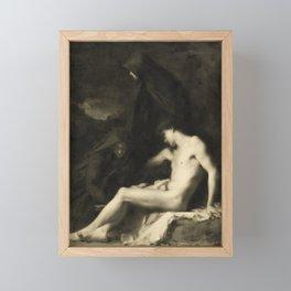 Saint Sebastian Attended by Saint Irene Framed Mini Art Print
