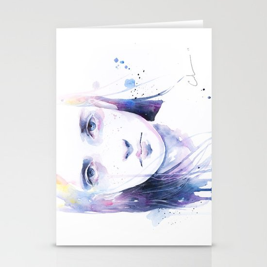 the water workshop II Stationery Cards