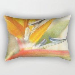 Bird of Paradise - Strelitzea reginae - Tropical Flowers of Hawaii Rectangular Pillow