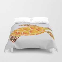 Turtle Time Duvet Cover