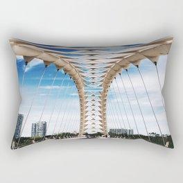 Humber Bay Park Bridge Rectangular Pillow