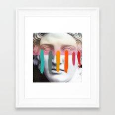 Composition on Panel 2 Framed Art Print