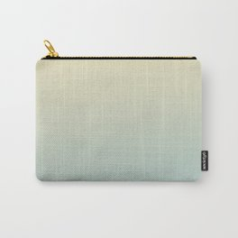 FADING AWAY - Minimal Plain Soft Mood Color Blend Prints Carry-All Pouch