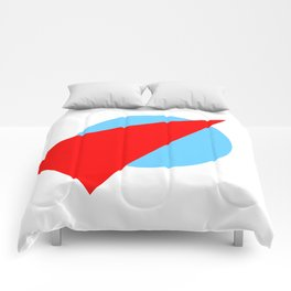 Compass: Blue and Red Comforters