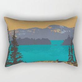 Killarney Park Poster Rectangular Pillow
