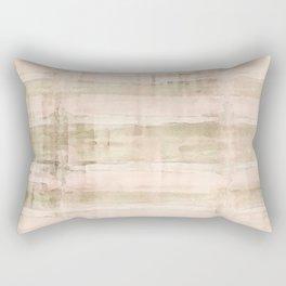 Light Watercolor Bamboo Rectangular Pillow