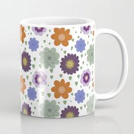 Thursday's Flowers - Retro Light Coffee Mug