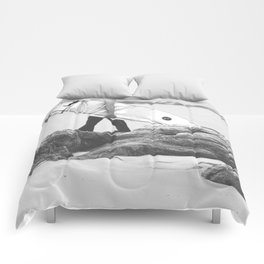 catch a wave IV Comforters