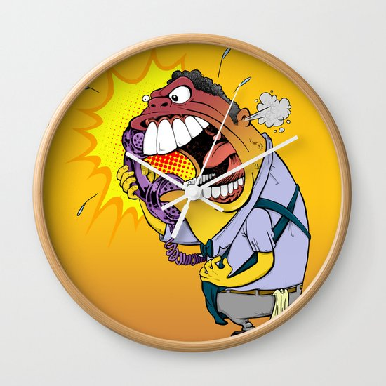 Jerky Moe Wall Clock