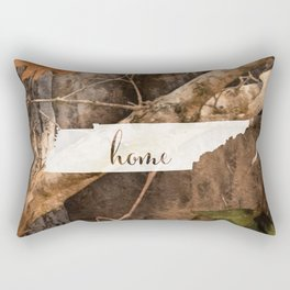 Tennessee is Home - Camo Rectangular Pillow