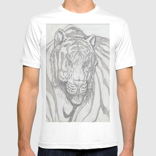 large tiger T-shirt