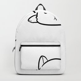 Don't Want To Job Hardworking Person Gift Backpack