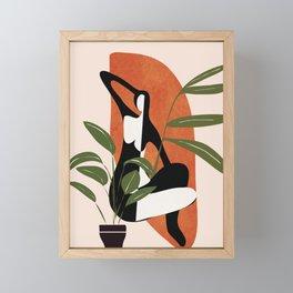 Abstract Female Figure 20 Framed Mini Art Print