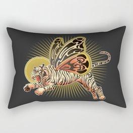 Golden Tiger Moth Rectangular Pillow