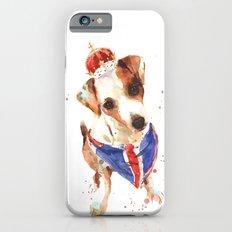 LONDON - Jack Russell Art - Union Jack Slim Case iPhone 6s
