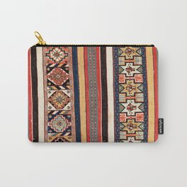 Salé  Antique Morocco North African Flatweave Rug Print Carry-All Pouch