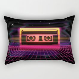 Sunset Cassette Rectangular Pillow