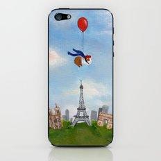 Guinea Pig Over Paris iPhone & iPod Skin