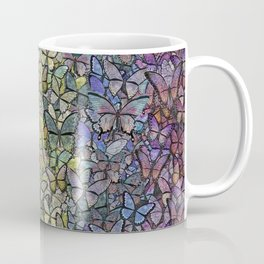 rainbow of butterflies aflutter Coffee Mug