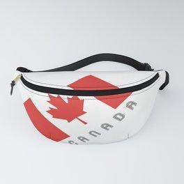 Elegant Maple Leaf Canada Fanny Pack