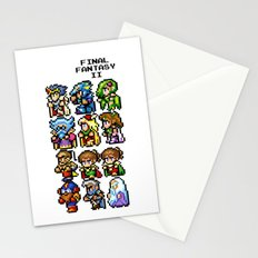 Final Fantasy II Characters Stationery Cards