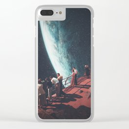Missing the ones we Left Behind Clear iPhone Case