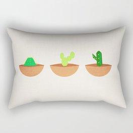 Tres Cactus Rectangular Pillow