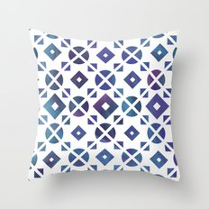 Broken Geometry 3 Throw Pillow