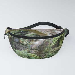 A Stone Arch Decorates the Garden Fanny Pack