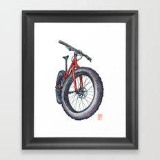 Fatbike Framed Art Print