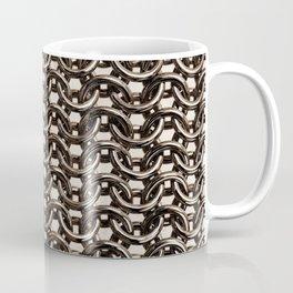byzantine bronze mail brass metal chain armour Coffee Mug