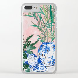 Friendship Plant Clear iPhone Case