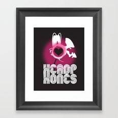 ♥ HEADPHONES Framed Art Print
