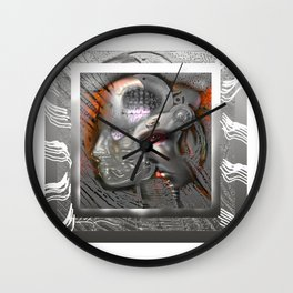 The Mind's Eye Wall Clock