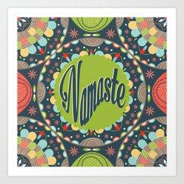 Mandala - Namaste Art Print
